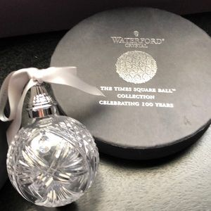 Waterford Crystal Times Square Ball